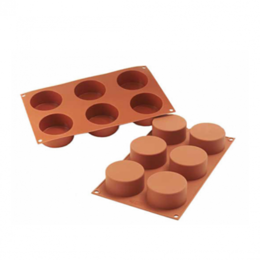 """Silicone mould """"cylinder"""" 68*38"""