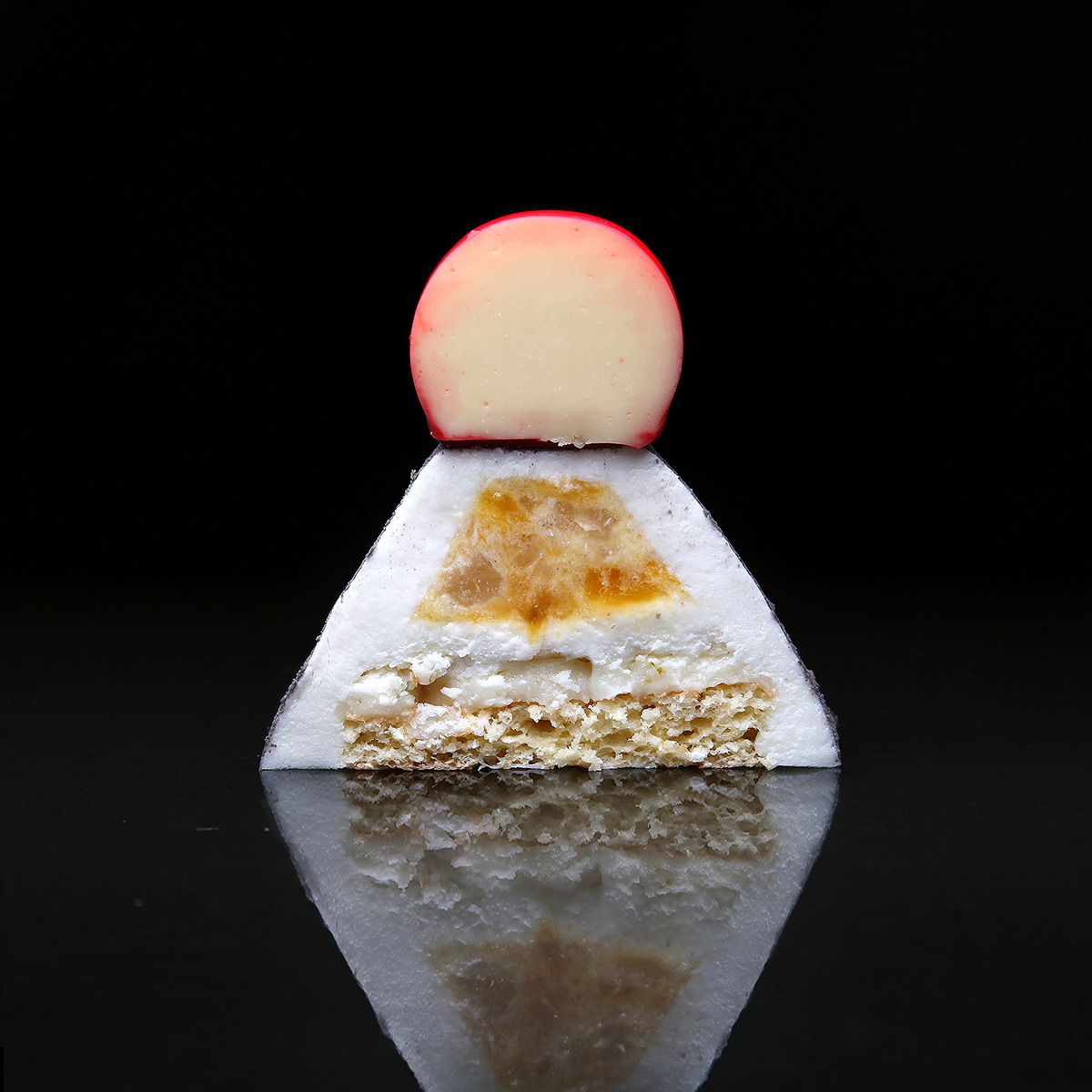 The pyramid with coconut