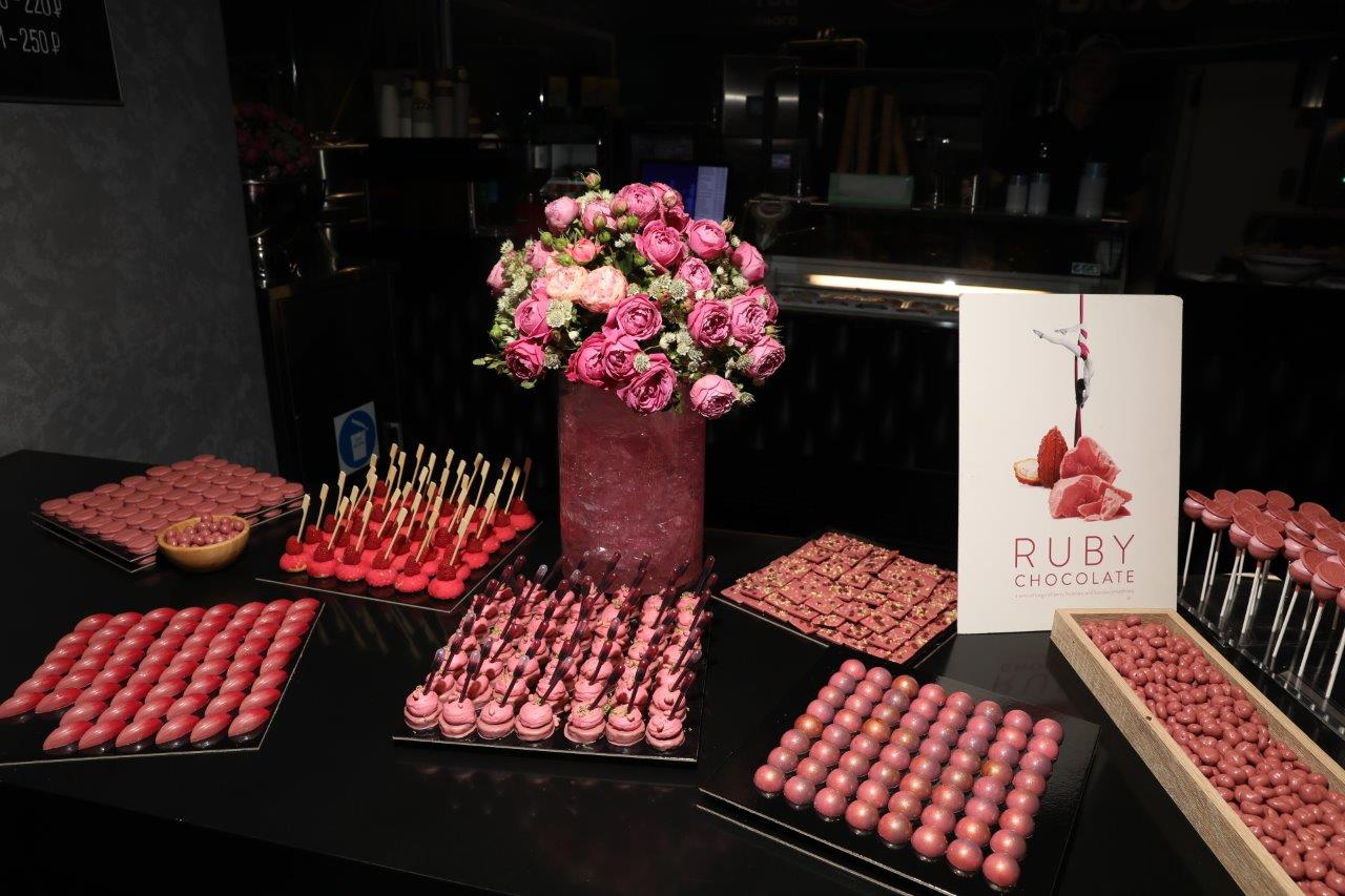 2019 Ruby chocolate Moscow